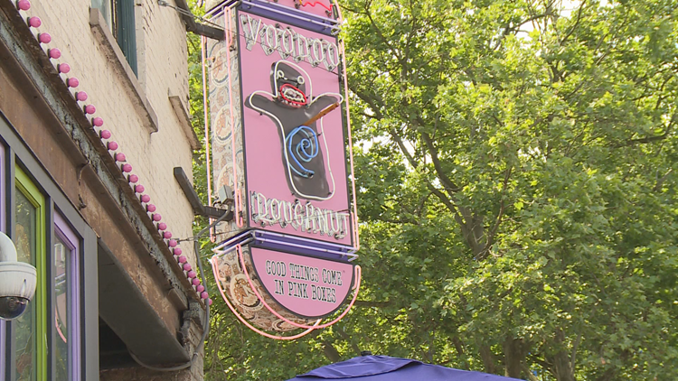 Employees at Portland's Voodoo Doughnut fired after walkout during heat wave