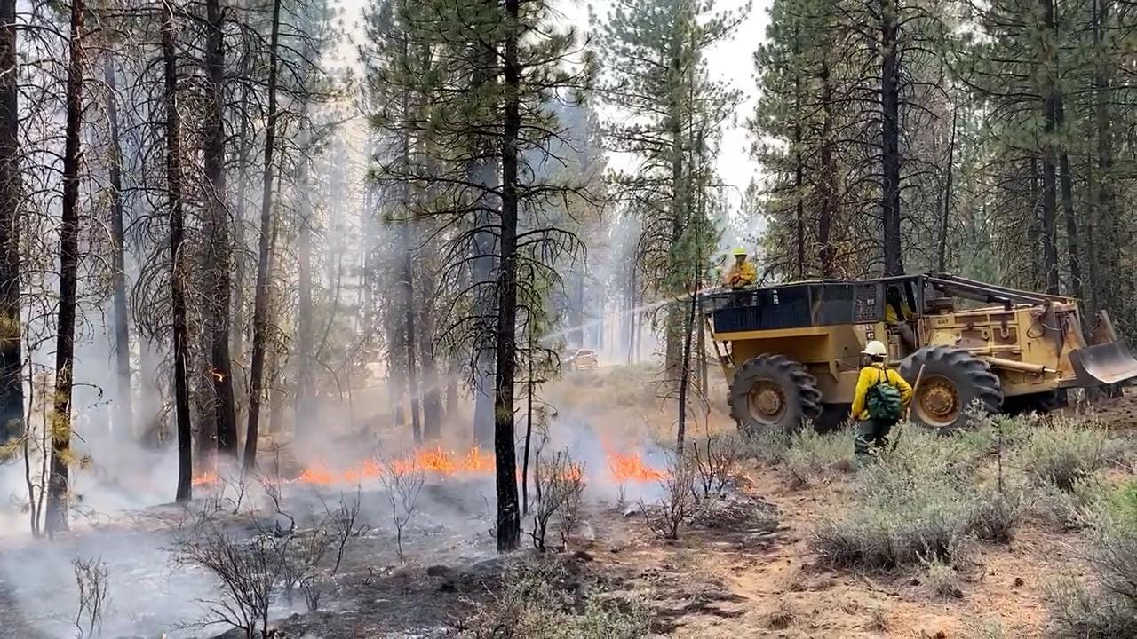 Oregon wildfires: Threat of lightning prompts request for resources in southern Oregon