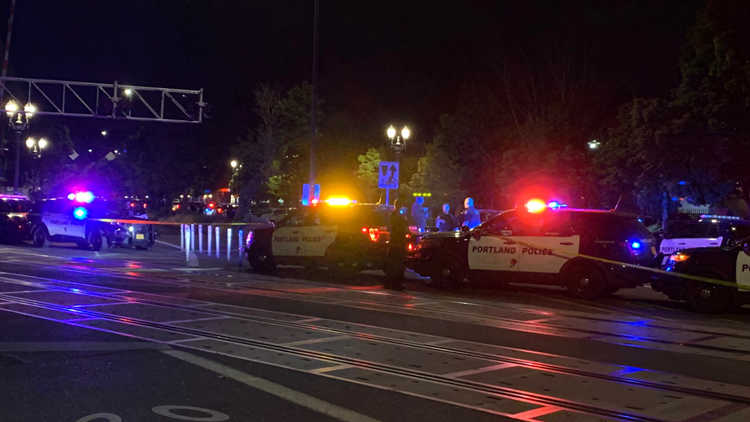 Man expected to live after police shooting Tuesday night on NW Naito Parkway