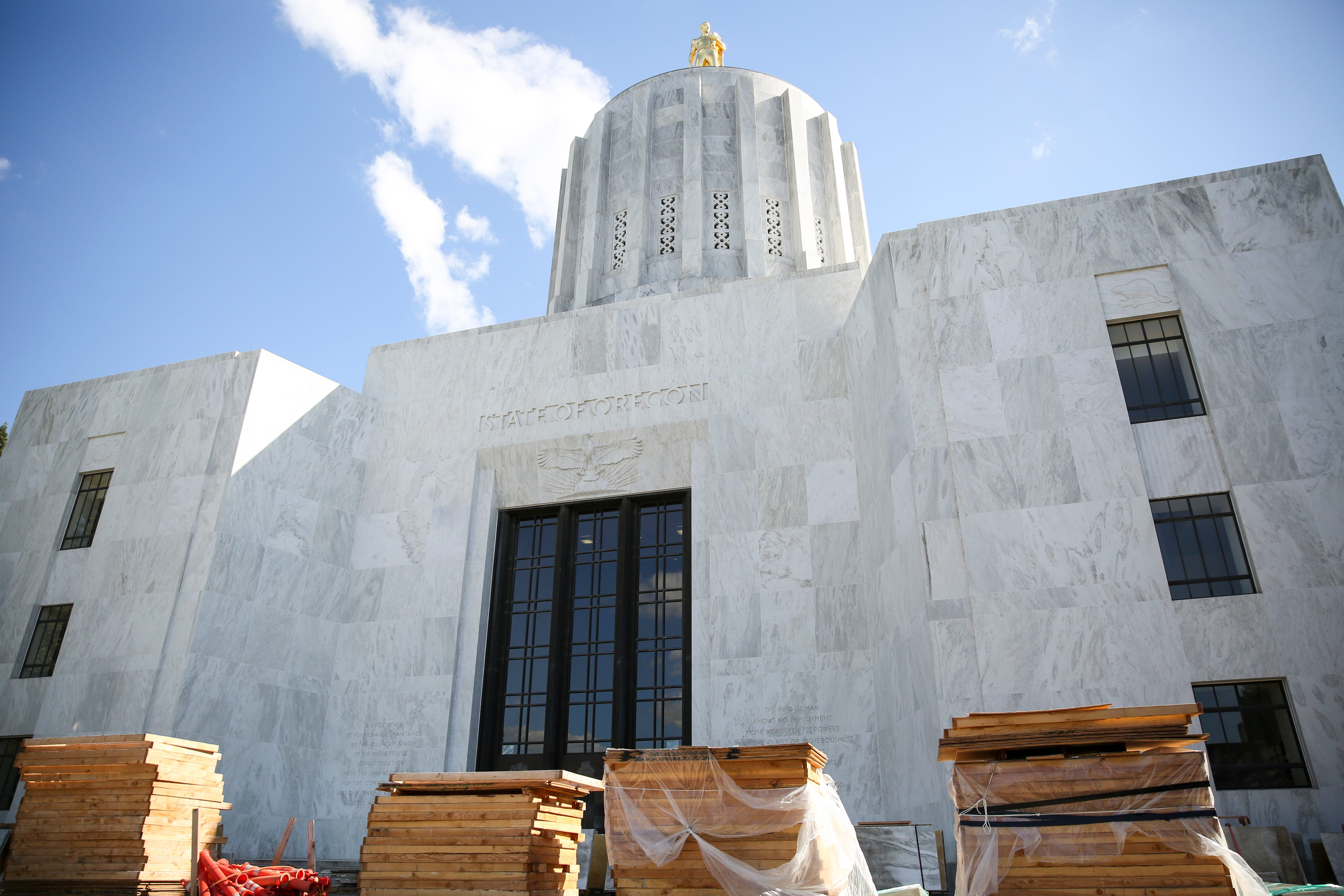 $71M Oregon Capitol construction project focuses on accessibility, earthquake safety