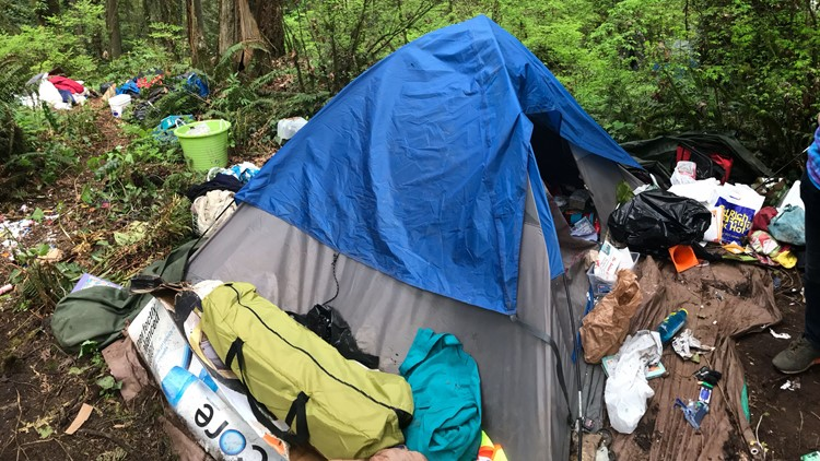 Portland bars camping in forested areas during fire season