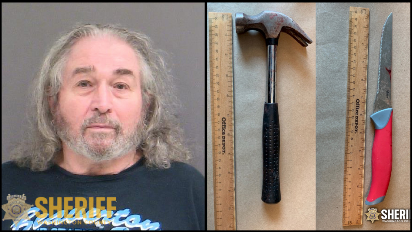 Man, 70, reports himself after roommate hit with hammer, stabbed