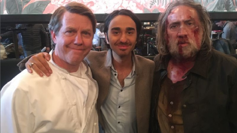 Portland actor recalls sharing stage with Nic Cage in 'Pig'