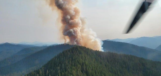 Oregon wildfires: New fire in Bull of the Woods grows to 200 acres, Middle Fork Complex at 1,707 acres