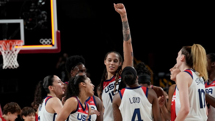 US rolls to 7th straight women's hoops gold medal in Bird's last Olympics