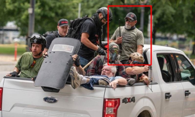 Firearms surrender ordered for Capitol riot suspect after Portland skirmish