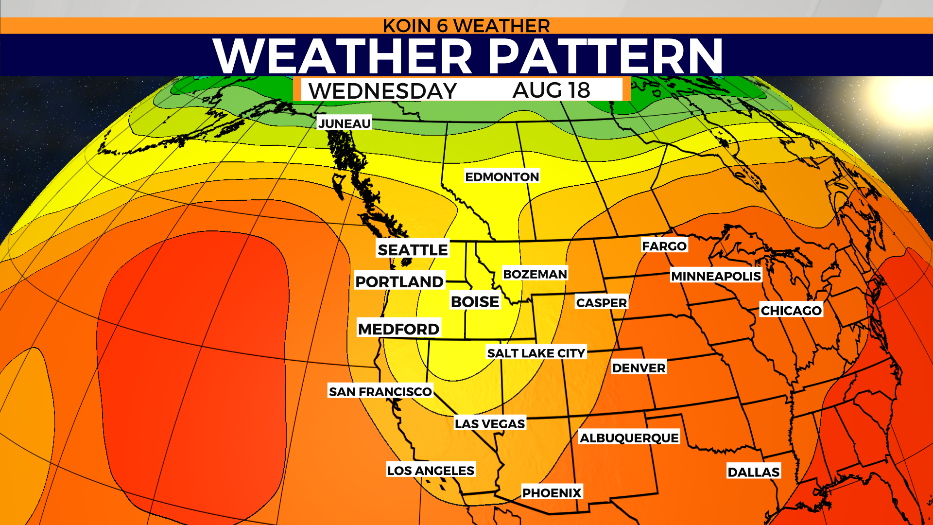 Go ahead, brag about August weather this week