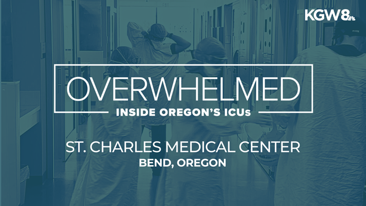 Frustration and anger inside an Oregon hospital overwhelmed with COVID patients