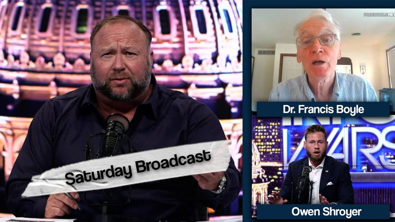 Emergency Saturday Broadcast! Dr. Francis Boyle Calls For Fauci's Arrest!