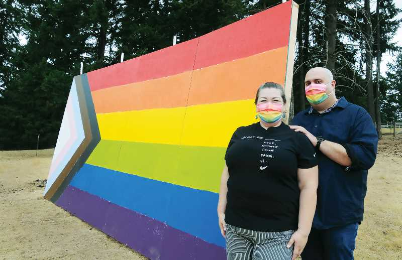 Pride display a message of 'solidarity' against school's ban