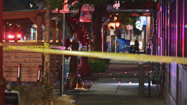 Five people shot at vigil in Old Town
