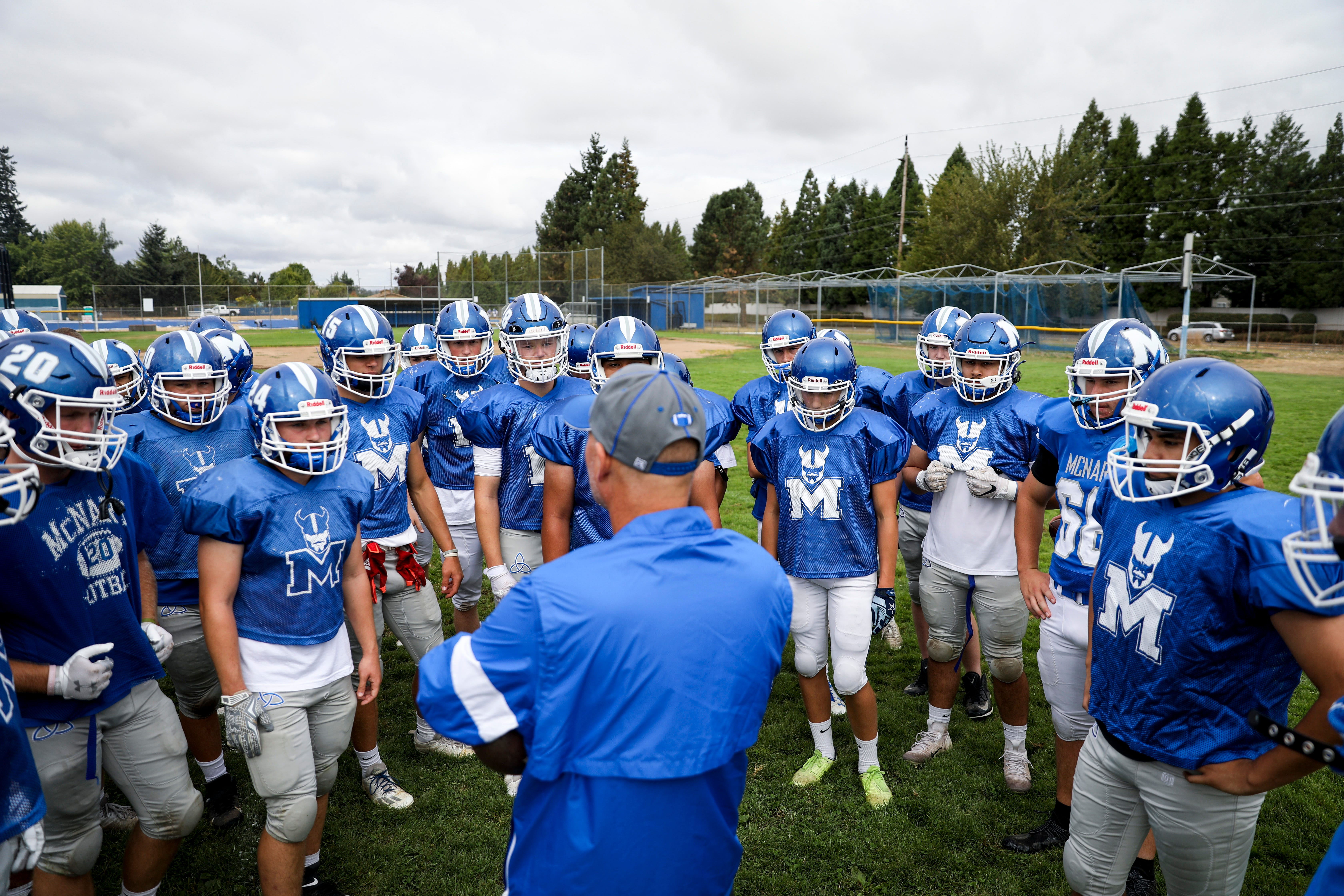 Who knew two-a-days would be welcome? High school football is back on the fall calendar