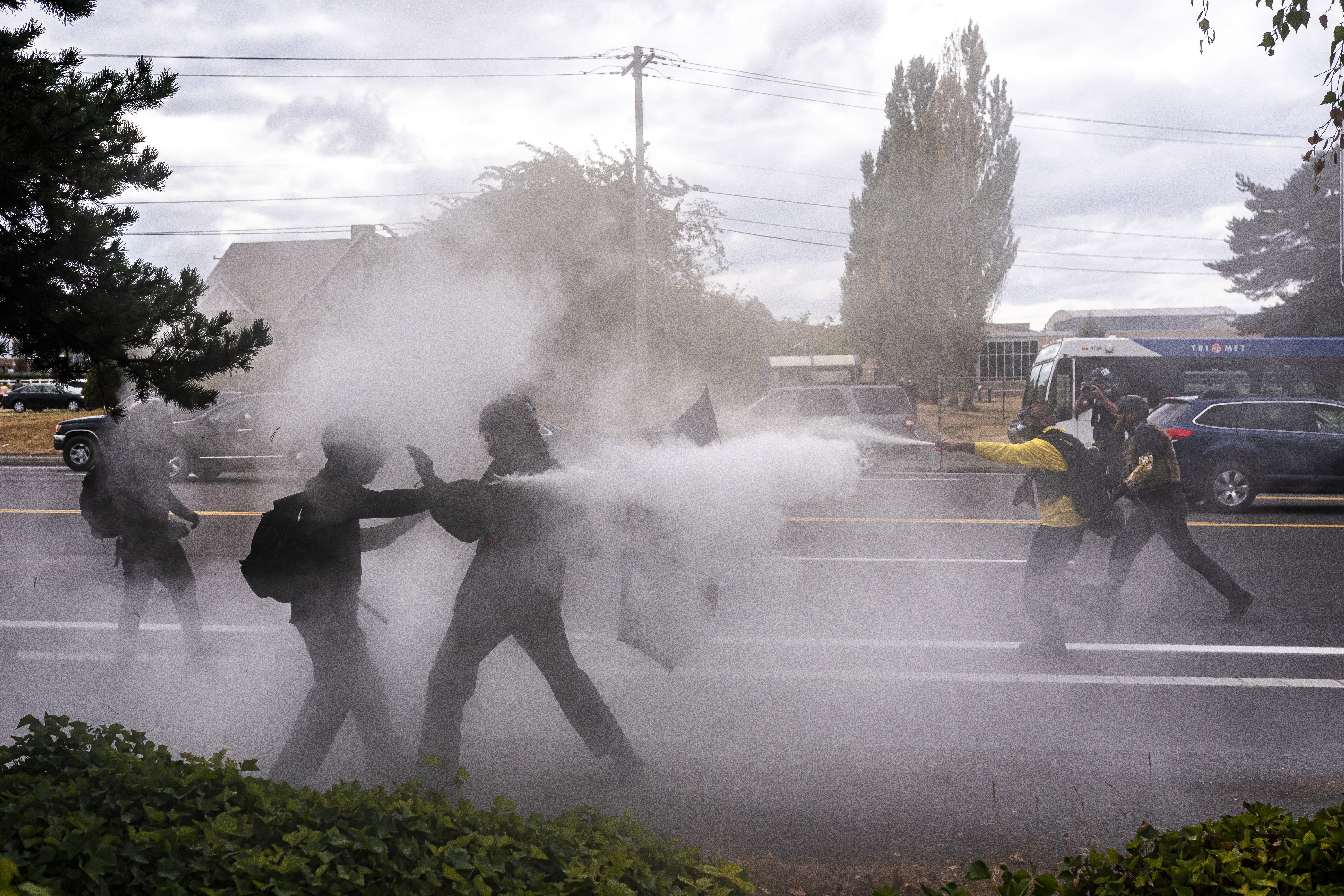 Portland residents felt 'abandoned' by police during clash