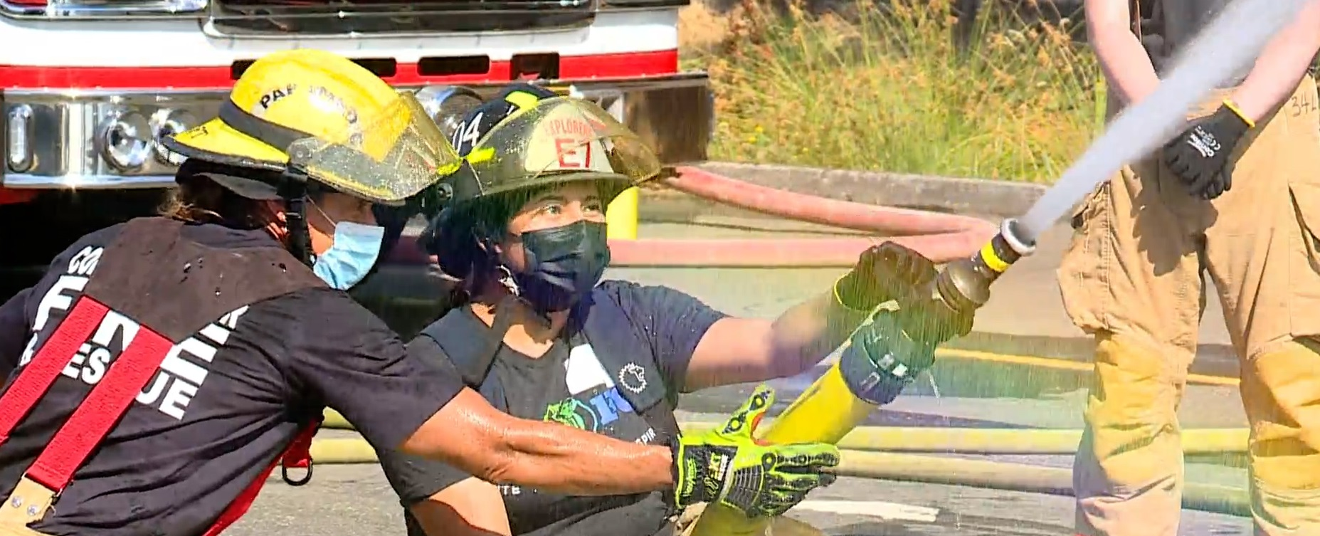 Camp encourages women to join firefighting, emergency response