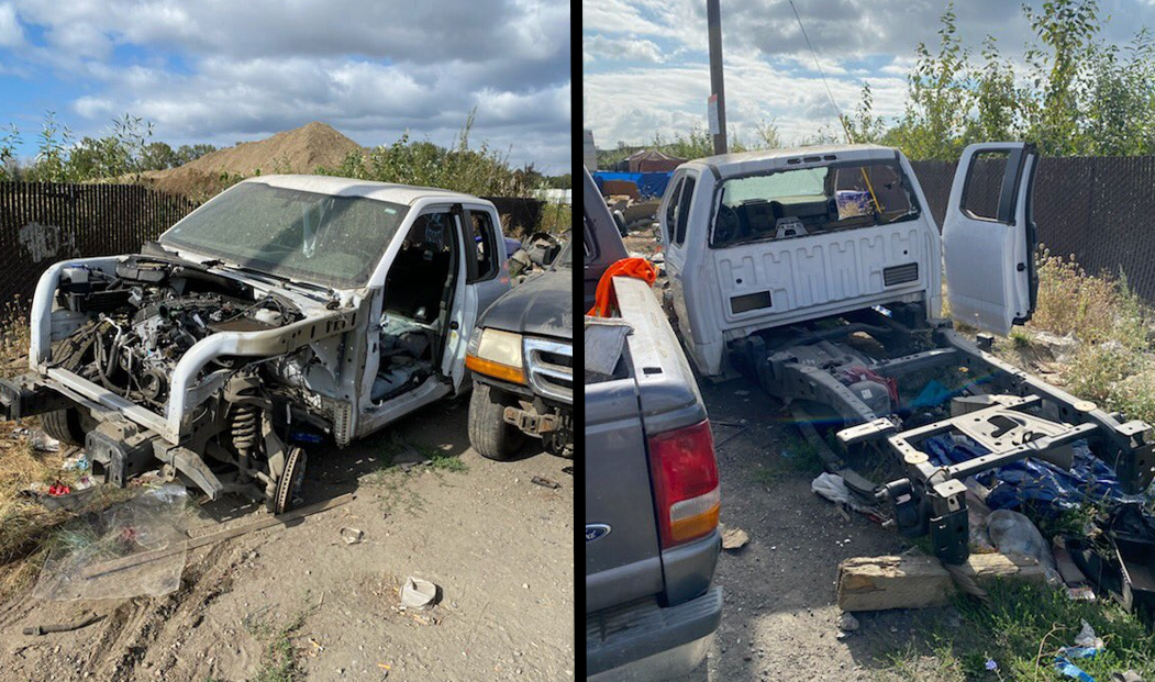 3 more stolen, stripped cars found in Delta Park clean-up
