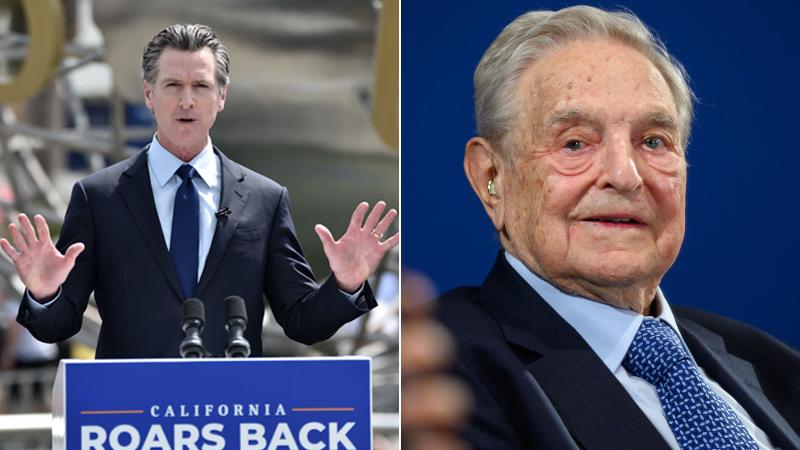 Soros Donates $500,000 To Stop California's Recall of Gov. Gavin Newsom