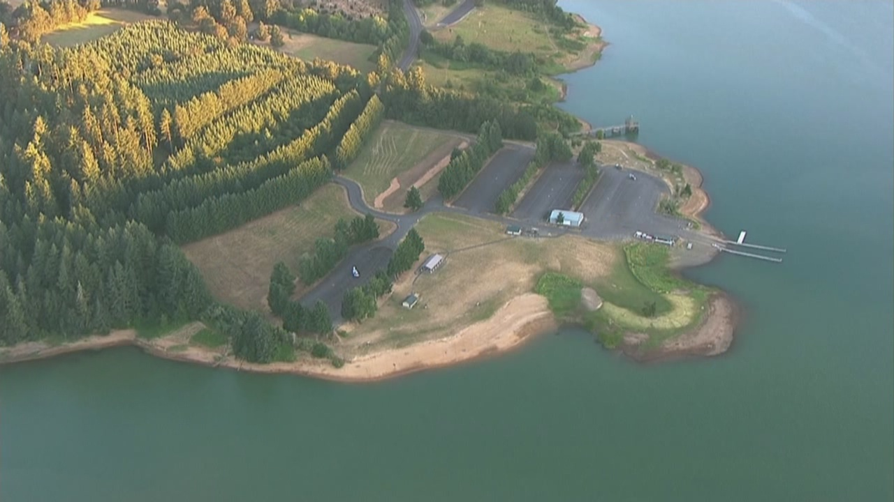 Forest Grove Fire: One person dies at Hagg Lake
