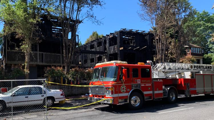 Third victim in Portland July 4 apartment fire dies of her injuries