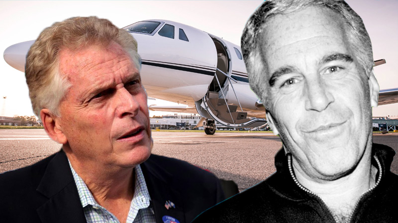 McAuliffe Gets $100,000 Donation From Jeffrey Epstein Associate Who Owns Plane Called The 'F**k Jet'