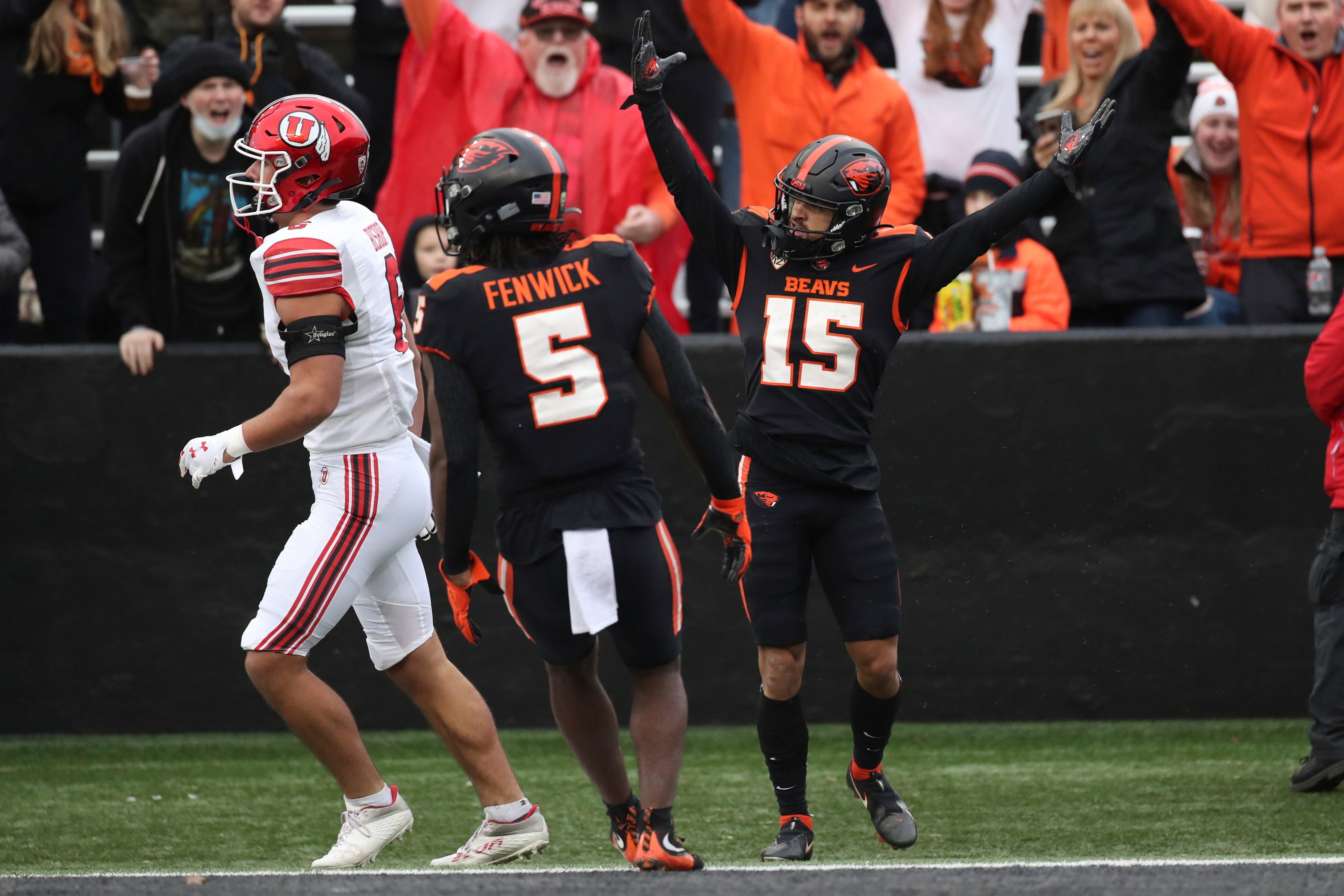 Oregon State beats Utah, remains tied for Pac-12 North lead