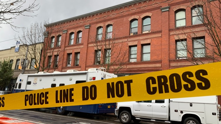 Portland police: 2 dead in Old Town shooting