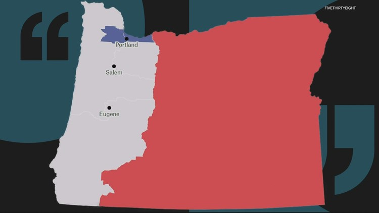 Princeton Gerrymandering Project gives Oregon redistricting maps an 'F' for partisan fairness
